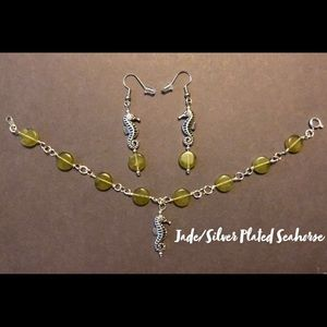 Bracelet and earrings set